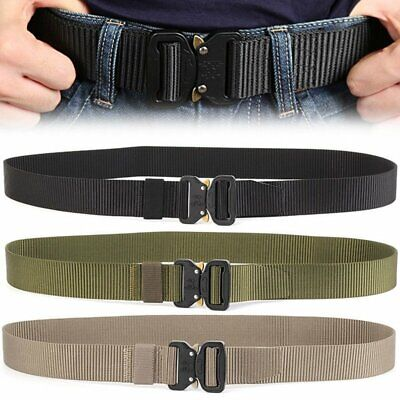 Men Militär Taktisch Gürtel Military Outdoor Sport Tactical Nylon Waistband Belt