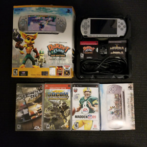 PlayStation Portable Limited edition Ratchet & Clank Mystic Silv