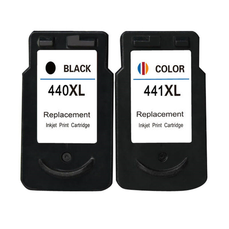 2x PG440 CL441 Ink Cartridges Compatible For Canon Pixma MX524 MX534 MG2140