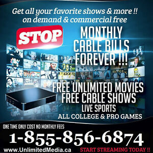 Unlimited Movies, TV Shows & Sports Sarnia Sarnia Area image 1