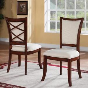 Leander Side Chair SET OF 2   by World Menagerie