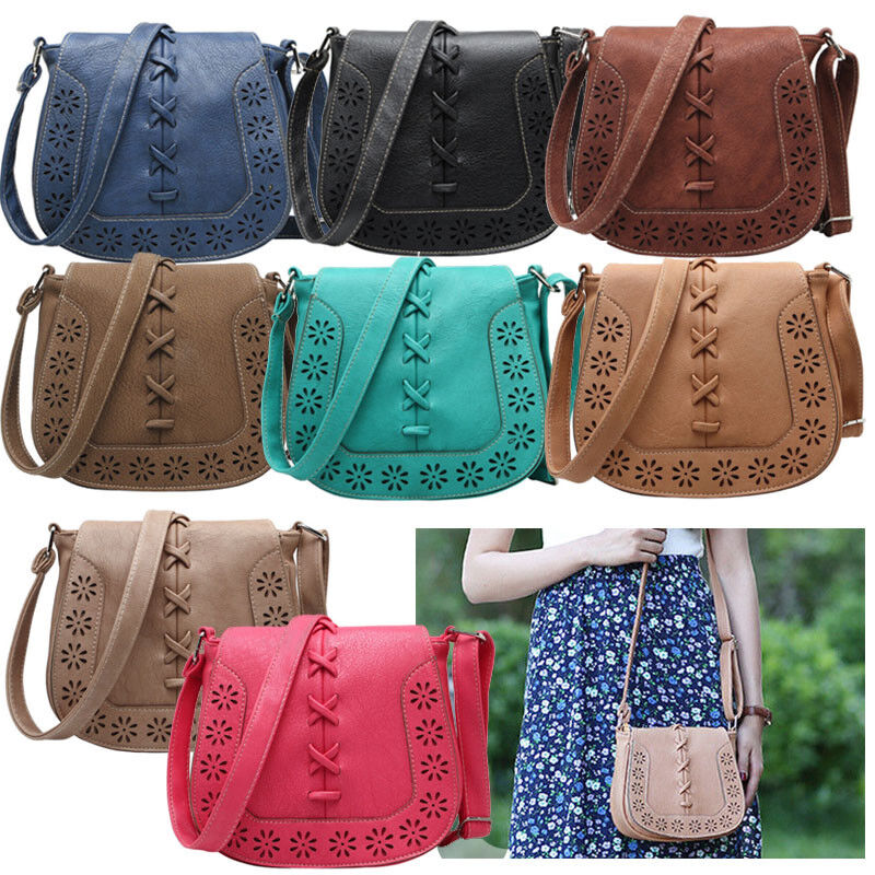 Women's Handbag Shoulder Bag Leather Messenger Hobo Bag Satc
