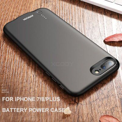 Ultra-Thin Battery External Power Charger Charging Case Cover For Apple iPhone 7