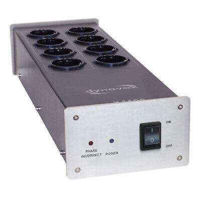 DYNAVOX  X4100S HIFI-STECKDOSENLEISTE silber HIGHEND NETZFILTER