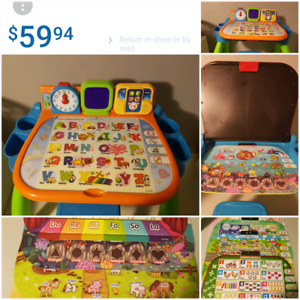 Vtech touch and learn activity desk EUC