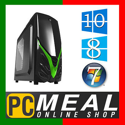 INTEL Core i5 7400 Max 3.5GHz GAMING COMPUTER 1TB 8GB DDR4 HDMI Quad Desktop PC
