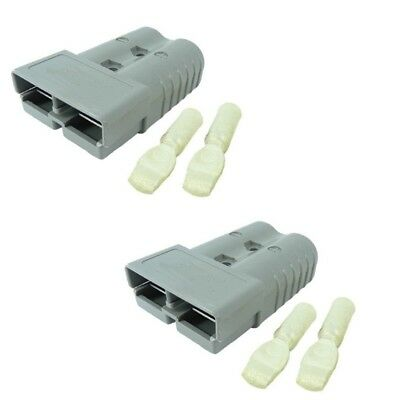50 Amps Anderson Sb50 Connector Kit 36v Gray Housing 6 Awg 6319 2-set