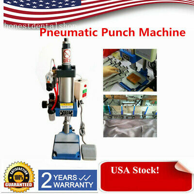 200kg440lbs Pneumatic Punch Press Machine Small Desktop Punching Machine 110v