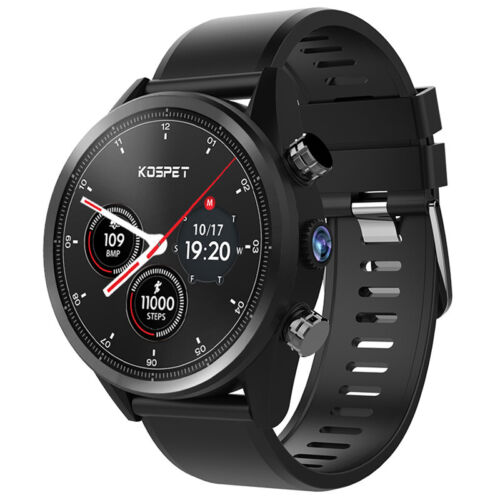 Kospet Hope Lite 4G Smart Watch Phone Bluetooth Camera 1+16G