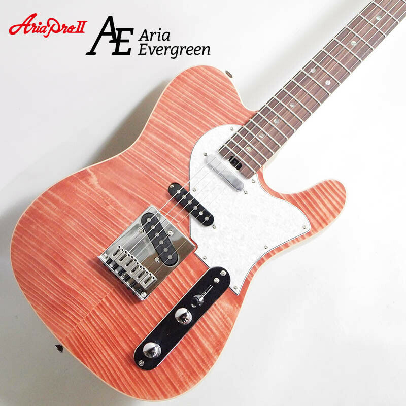 Aria Proii 615-Ae200 Mp Misty Pink Electric Guitar