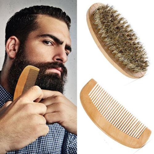 Boar Borst Bartbürste und Kamm für Herren, Bartpflege-Kamm-Kit