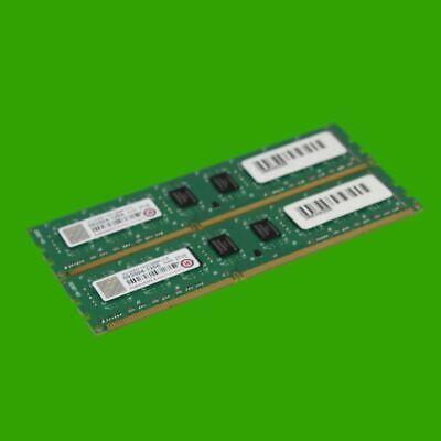 Transcend 2gb 240-pin (Transcend 4 GB RAM (2x 2GB) Speicher CL9 1333 MHz  DDR3 UDIMM 240 pin Non-ECC)