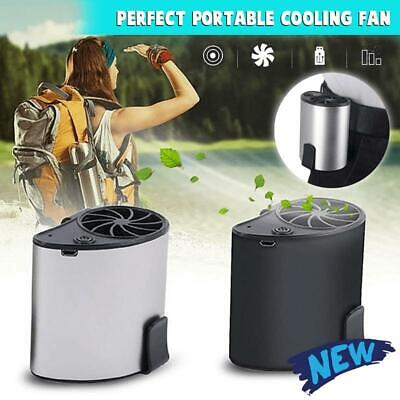 Hang Waist Cooling Fan Outdoor Portable Mini Fan For Working at The Waist NEW