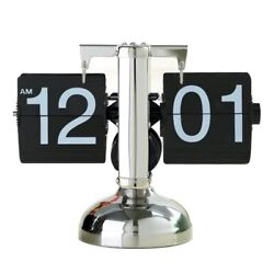 Creative Automatic Page-turning Vintage Decoration Modern Mechanical Flip Clock