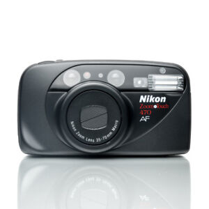 Nikon Zoom Touch 470 AF 35mm Film Point & Shoot