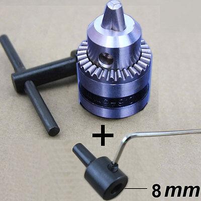 New B12 Drill Clip 1.5-10mm Small Drill Chuck Precision Chuck Connection8mm