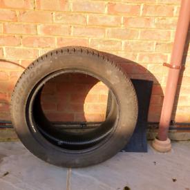 Pirelli Scorpion (2 Used) Run-Flat Winter Tyres 285/45 R19 111V. 6mm.