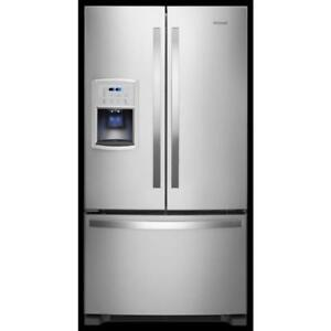 "Brampton Appliances | Mississauga Appliances -|Whirlpool WRF550CDHZ 36"" Inch French 3-Door Refrigerator (BD-926)"