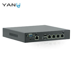 Mini PC Industrial Control Celeron J1900 Quad-core 4GbE LAN