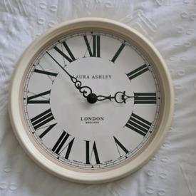 Laura Ashley wall clock