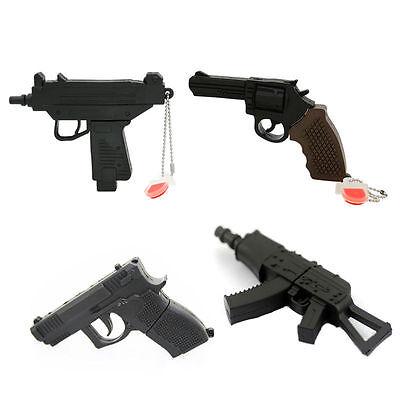 Pistol/Gun/AK series model USB 2.0 Memory Stick Flash pen Drive 8GB-32GB P515