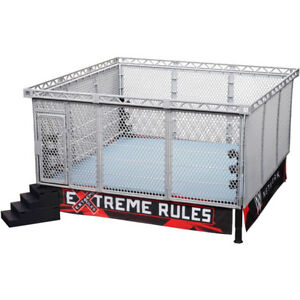 WWE Elite Wrestling Ring with Modern Day Steel Cage BNIB