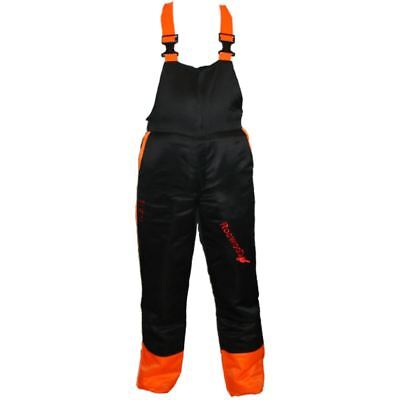 Rocwood Chainsaw Forestry Safety Bib & Brace Trousers Medium 33