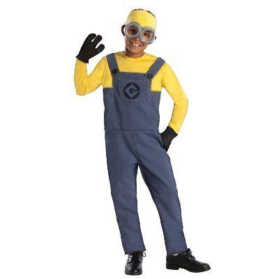 Rub - Ich unverbesserlich 2 Kinder Kostüm Minion (Kind Minion Dave Kostüm)
