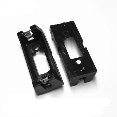 5Pcs CR123A Battery (3V) Clip Holder 2 Pin Battery Holder Case Black PCB