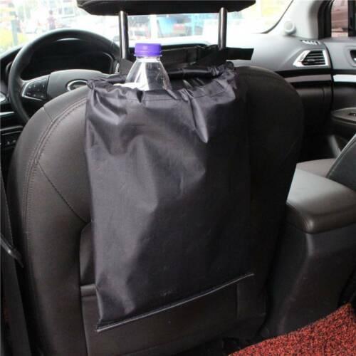 Car Seat Back Hanging Trash Bag Litter Garbage Container Holder Oxford Cloth Hot