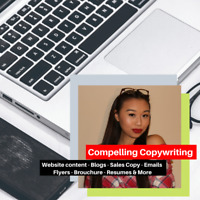 Compelling Copywriter and Content Writer