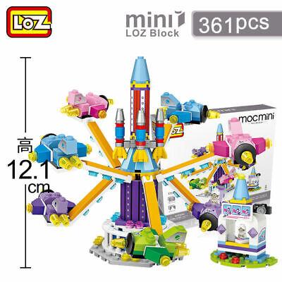 LOZ Amusement Park Series Gyrocopter Kids Puzzle Mini Block Brick Toy -