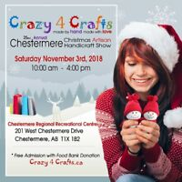 25th Annual Chestermere Christmas Artisan Show - Sat Nov 3/18