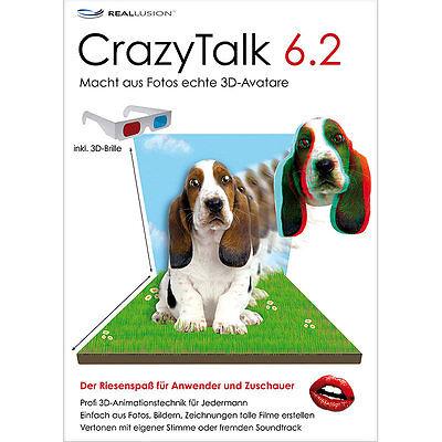 S.A.D. CrazyTalk 6.2 mit 3D-Animation