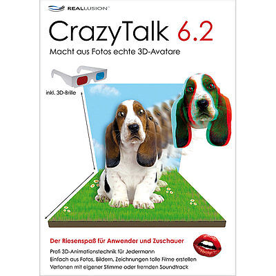 S.A.D. CrazyTalk 6.2 mit 3D-Animation