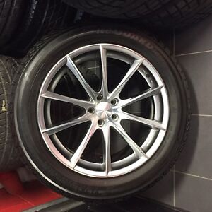 "20"" Mercedes Benz GL winter wheels and Yokohama tires"