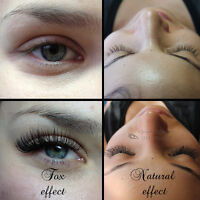 Certified Eyelash Extensions Montreal - 80$ - (514) 462-4839