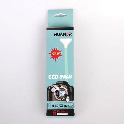 6 PCS 24mm Full Frame Wet Sensor Cleaner CMOS CCD SWAB for Canon ...