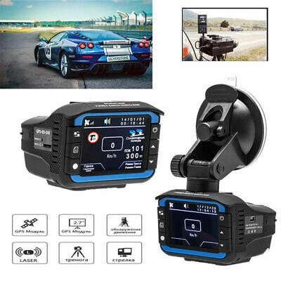 反レーダーレーザーの速度探知器1080P車DVRのレコーダーのビデオダッシュのカメラ夜
