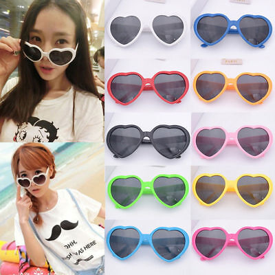 Vintage Shades Heart Shaped Sunglasses Sunnies Shape Costume Glasses - Heart Shaped Glasses