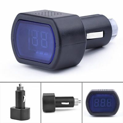 LED Car Auto Battery Electric Cigarette Lighter Voltmeter Voltage Meter Tester