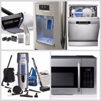INSTALLATIONS OF ALL MAJOR APPLIANCES-705-718-2400