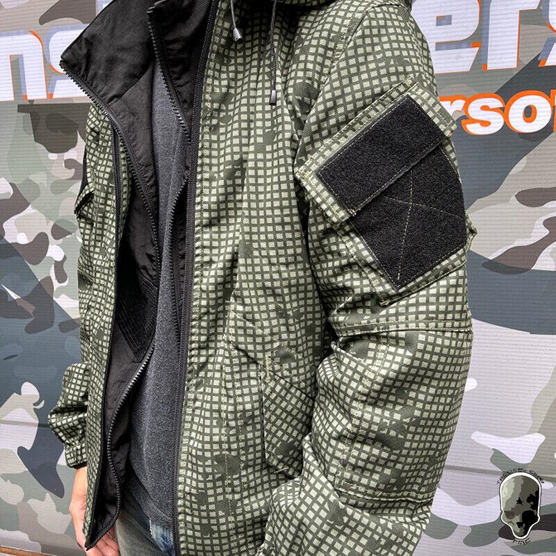 TMC Tactical Jacket Men Coat Leisure Windbreaker Casual Gear Daily Military Camo