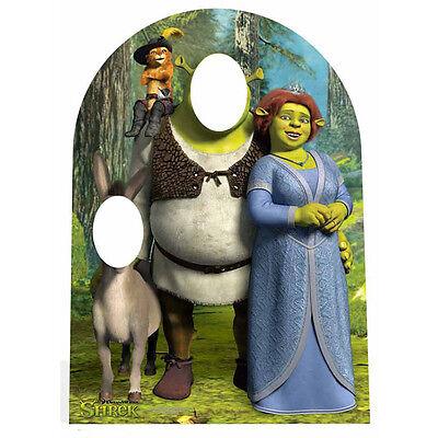 SHREK Stand-In CARDBOARD CUTOUT Poster Standee Standup Standin Donkey Fiona F/S