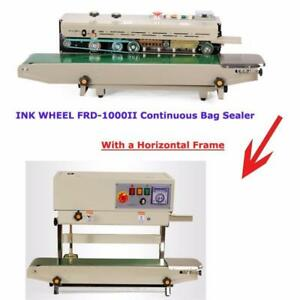 INK wheel coder  Vertical orientation stand  dual-use INK wheel coder Continuous Bag Sealer Continuous Bag Sealer  (Item
