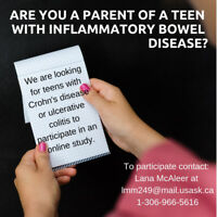 Do You Know A Teenager with Crohn's disease or Colitis?