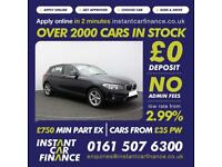 BMW 116 1.5TD ( 114bhp ) ( s/s ) Sports Hatch Auto 2015MY d SE