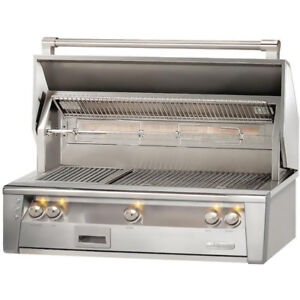 ALFRESCO ALXE 42 INCH BUILT-IN NATURAL GAS GRILL WITH SEAR ZONE