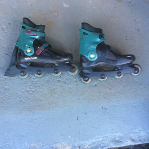 Roller Blades with carrying bag