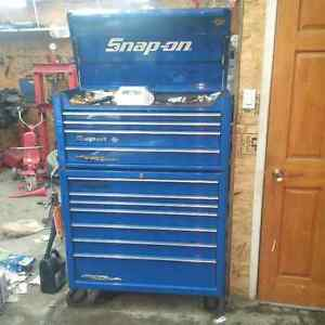 Snap on coffre